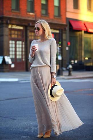 С чем носить шифоновую юбку