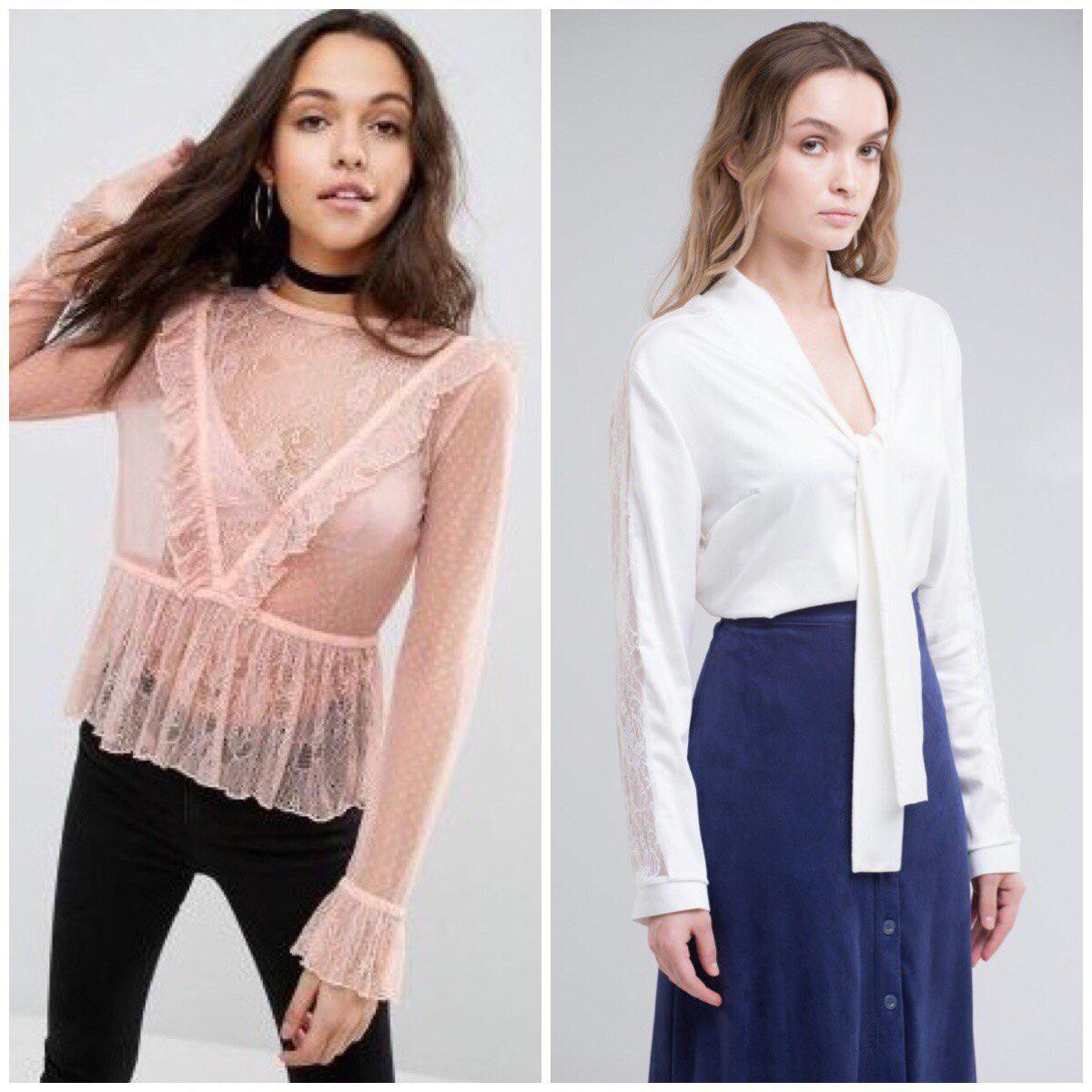 С чем носить блузки