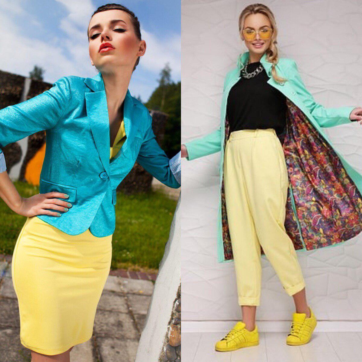 Как носить мятный цвет в одежде
