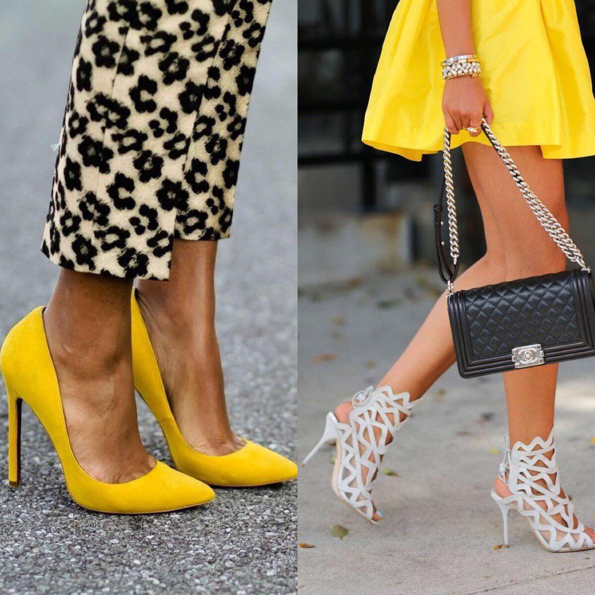 Высота каблука: как правильно подобрать