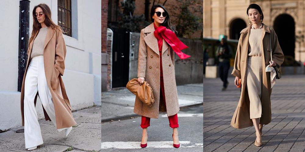 с какой обувью носить пальто