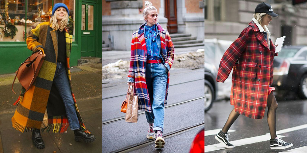 яркие пальто как носить