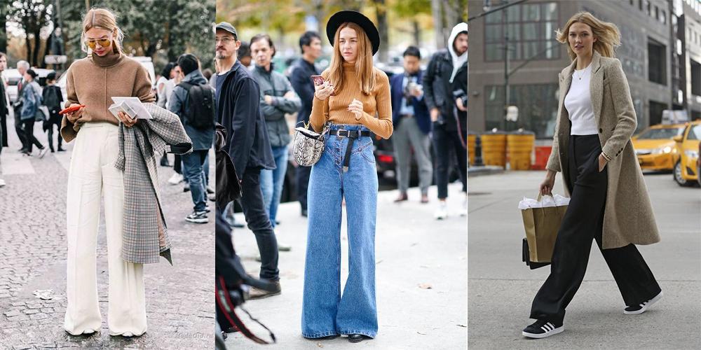 Вязаные жилеты, фланелевые рубашки и клеш – модные новинки 2020