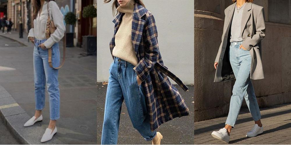 как носить джинсы образы