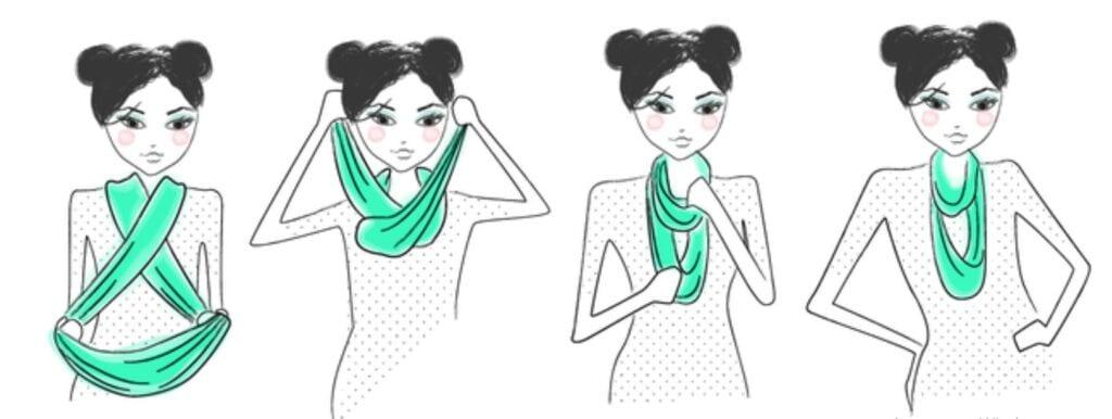 как носить хомут
