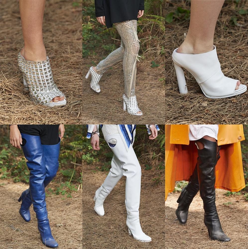 Обувь Burberry весна-лето 2021