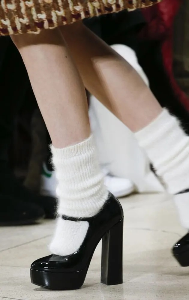 носки с туфлями
