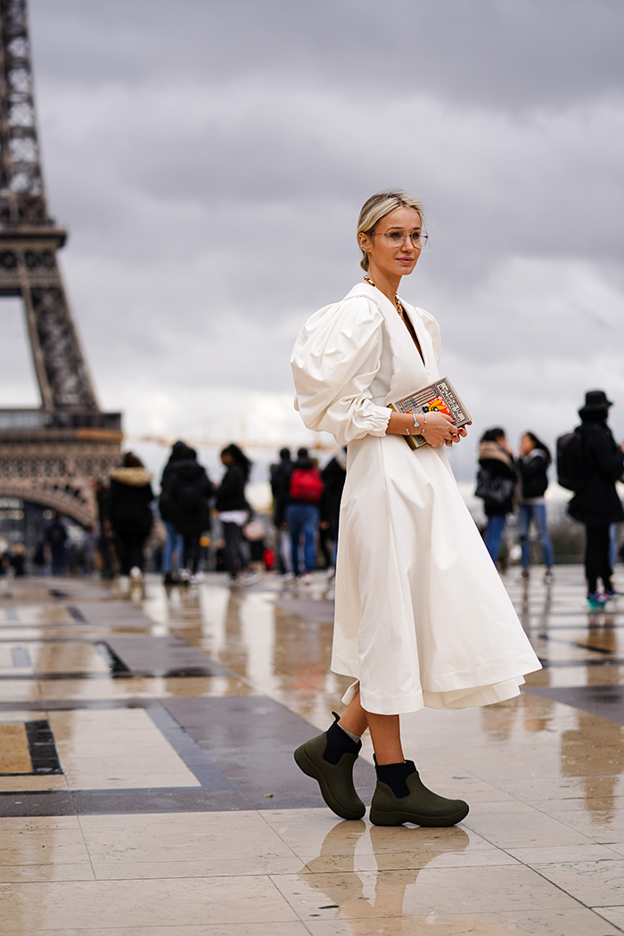 резиновые сапоги как носить 2021