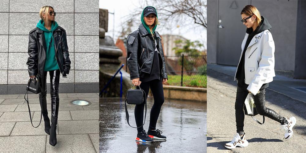 как стильно носить худи
