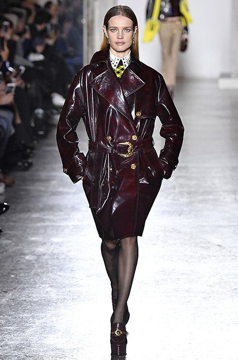 как носить пальто-кокон с ремнем