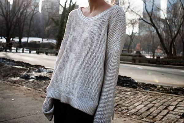 НЕактуальные модели свитеров