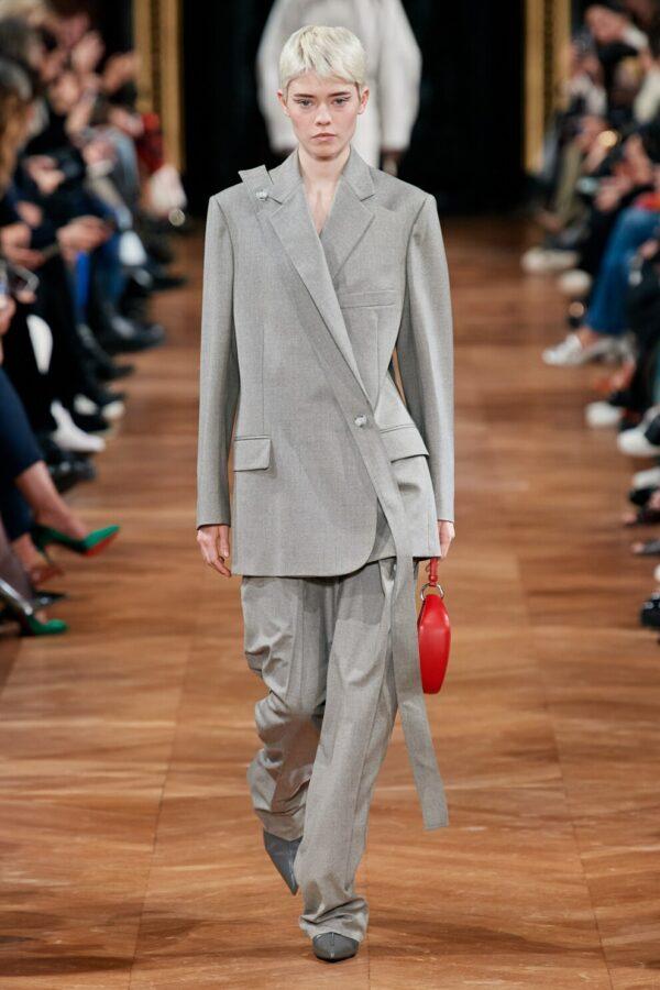 брючный костюм осень-зима 2020-2021