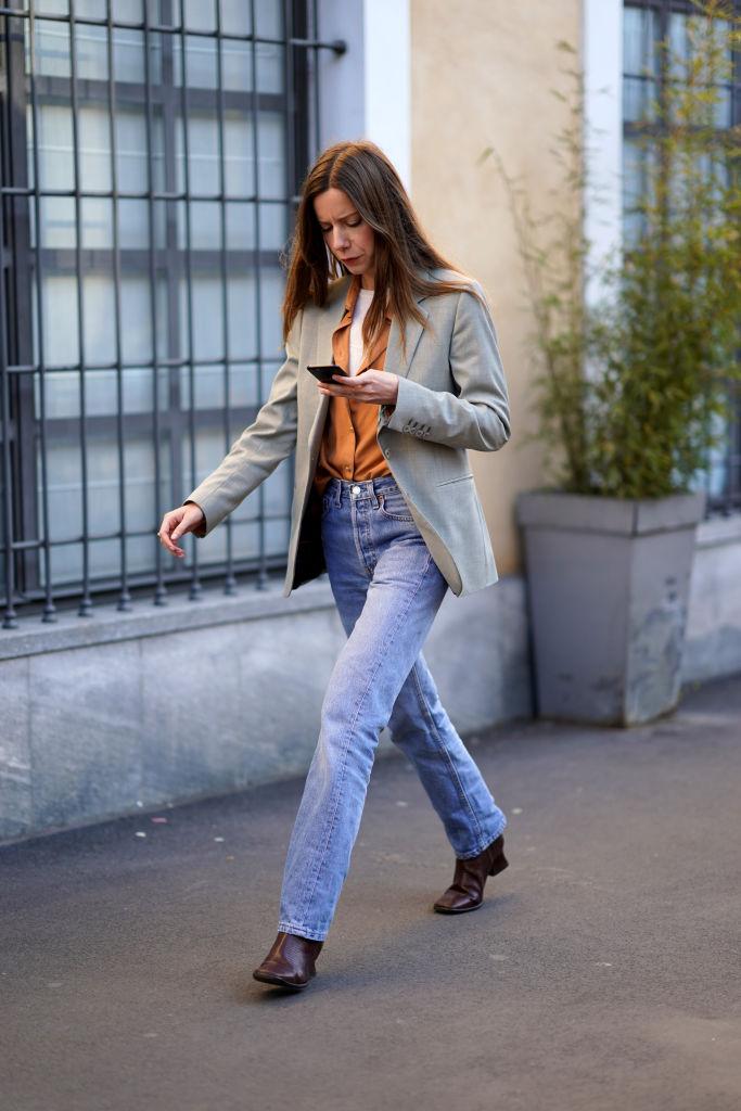джинсы осень 2020