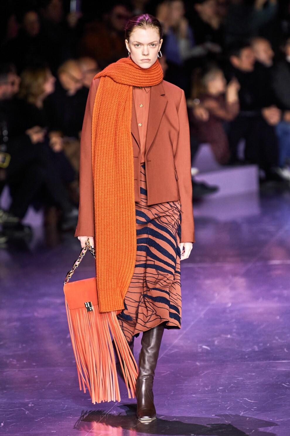 модные шарфы осень зима 2020-2021