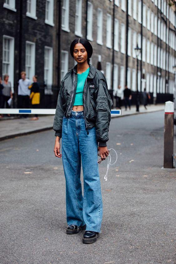 джинсы с мартинсами как носить