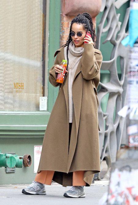 как низким девушкам носить пальто оверсайз