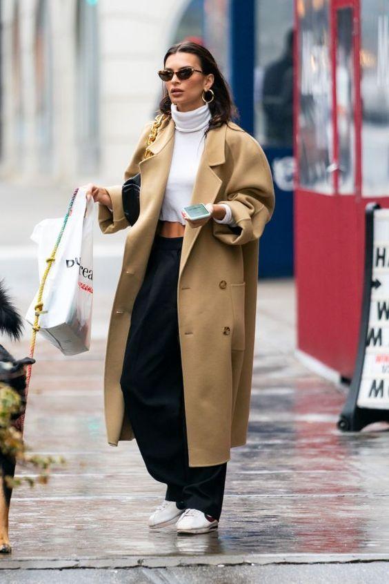 бежевое пальто с чем носить 2012