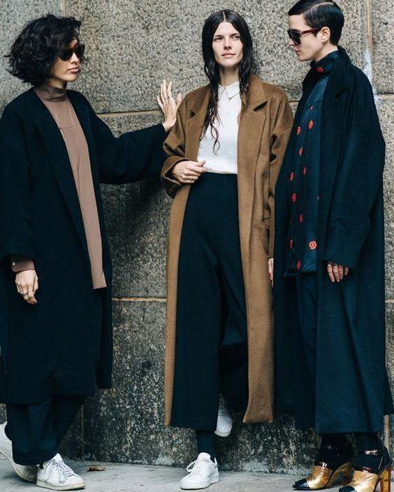 пальто оверсайз 2021 как правильно носить образы